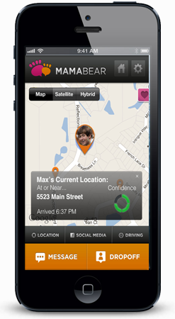 iphone gps tracking kids