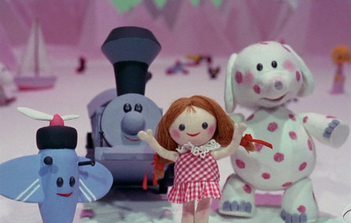 Misfit toys from movie Rudolph